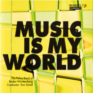 CD Cover Vorderseite MUSIC IS MY WORLD